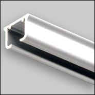 Aluminium curtain rails